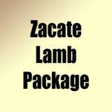 Zacate Lamb Package