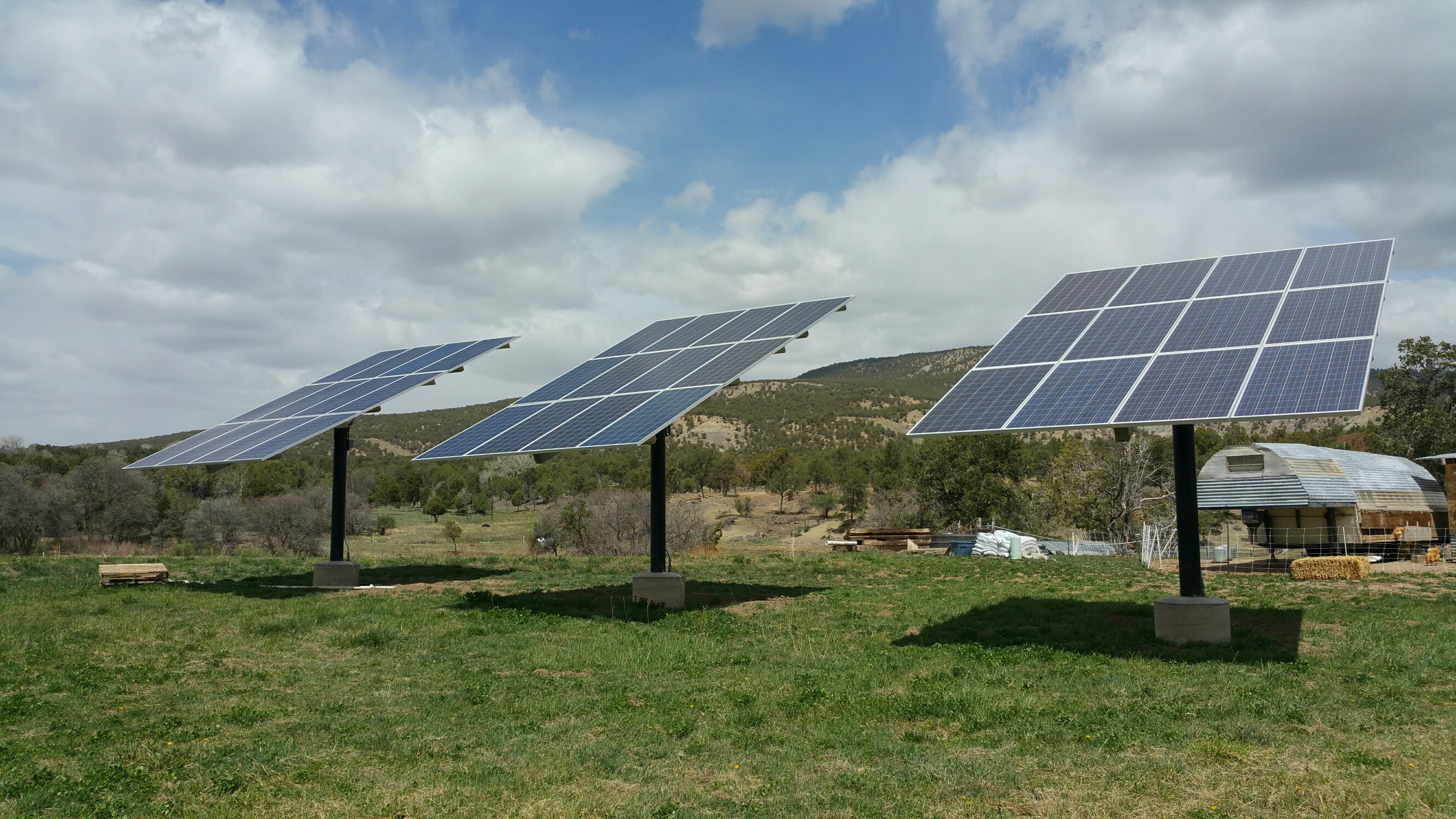 Our New Solar Collectors