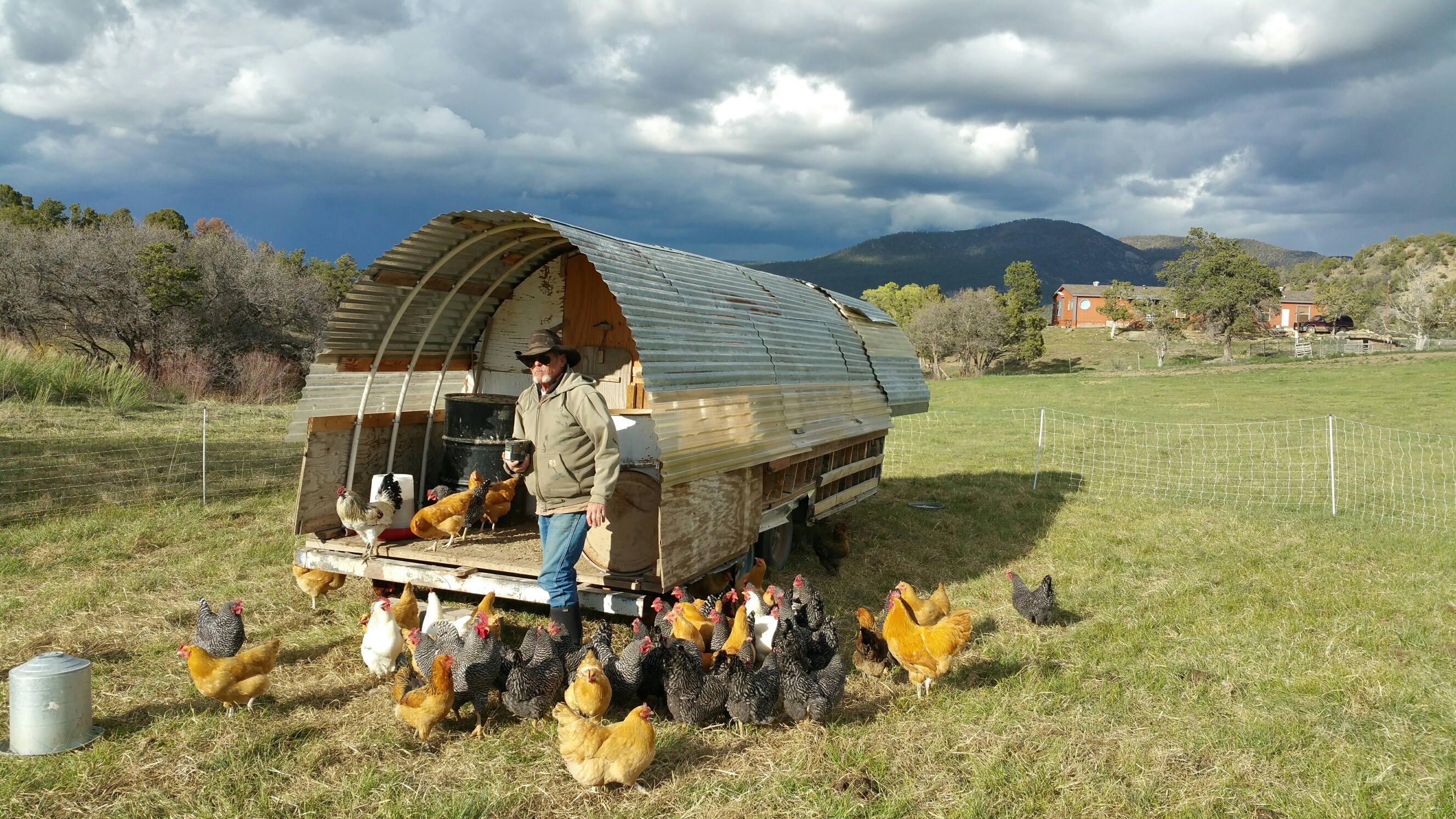 Our Movable Hen House