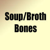 Soup/Broth Bones