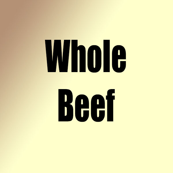 Whole Beef New