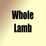 Whole Lamb New