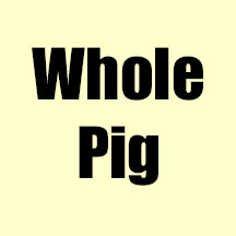 Whole Pig